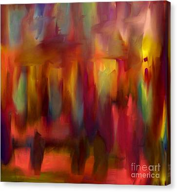 Le Voyage / The Journey Canvas Print by Carole Thivierge