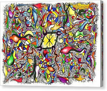 Lead Salad Canvas Print by Nathaniel Hoffman
