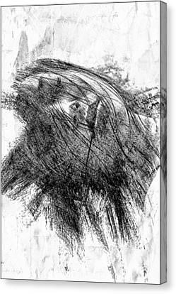 Leaden Slumber Canvas Print