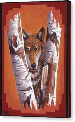 Leader Wolf Canvas Print by Billie Bowles