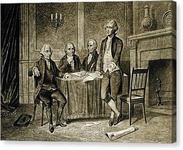 Leaders Of The First Continental Congress Canvas Print