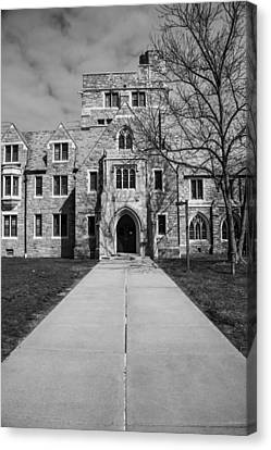 Uconn Canvas Print - Leading To Education by Karol Livote