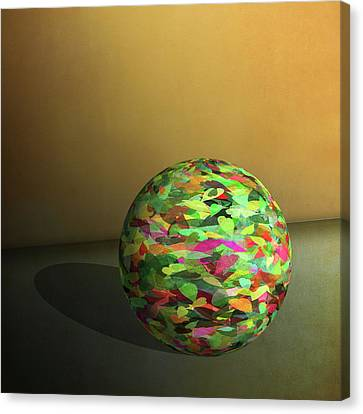 Leaf Ball -  Canvas Print