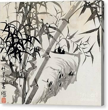 Leaf Canvas Print - Leaf C by Rang Tian