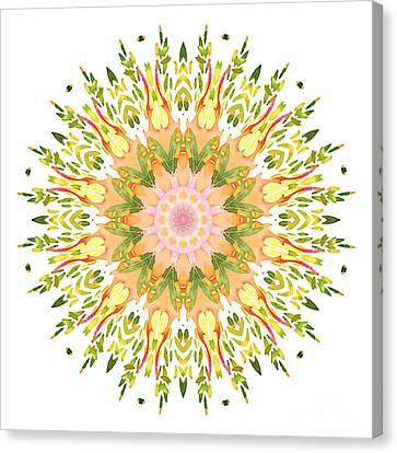 Leaf Nouveau Canvas Print