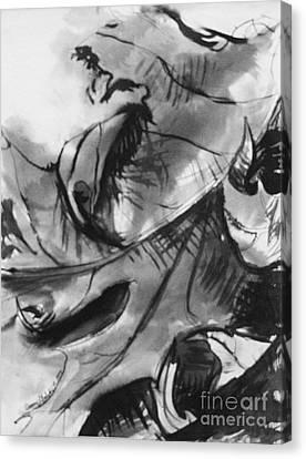 Leaf Study Variation 6 Canvas Print by Jamey Balester