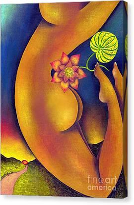 Leap Of Faith Canvas Print by Mucha Kachidza