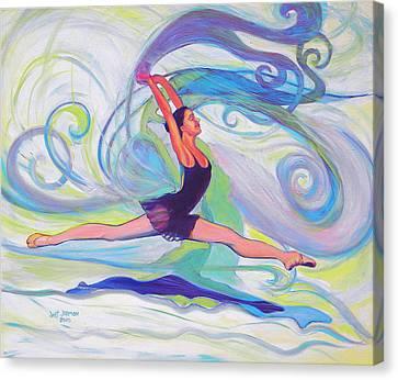 Leap Of Joy Canvas Print