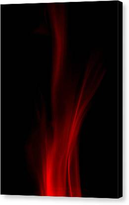 Leaping Flames Canvas Print