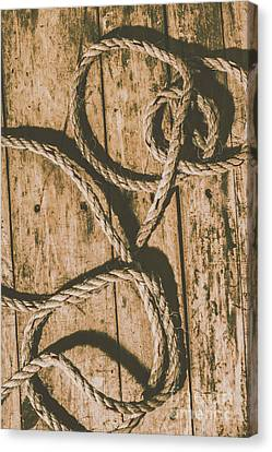 Brown Color Canvas Print - Learning The Ropes by Jorgo Photography - Wall Art Gallery