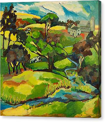 Leatherman Farm Canvas Print