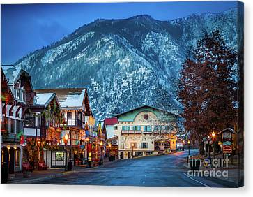 Leavenworth Alpine View Canvas Print by Inge Johnsson