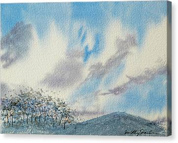 The Blue Hills Of Summer Canvas Print