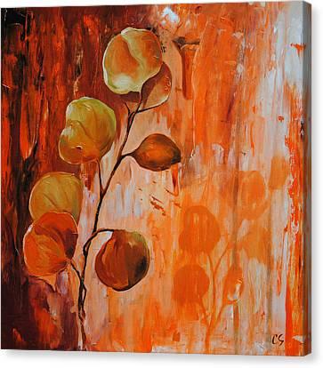 Leaves1 Canvas Print by Chris Steinken