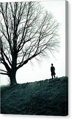 Leaving Canvas Print