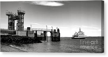 Leaving Lincolnville Canvas Print by Olivier Le Queinec