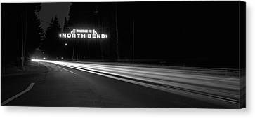 Leaving North Bend Canvas Print by HW Kateley