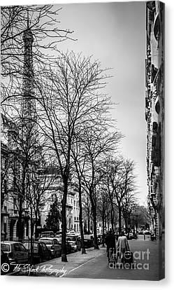 Leaving Paris Canvas Print