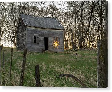 Leaving The Light On Canvas Print by Penny Meyers