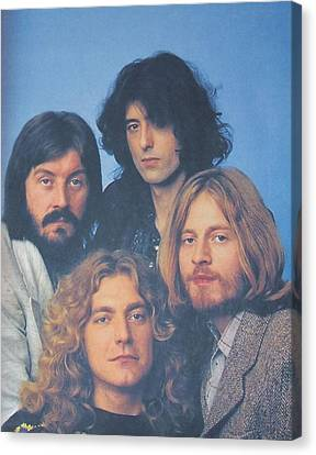 Led Zeppelin Canvas Print by Donna Wilson