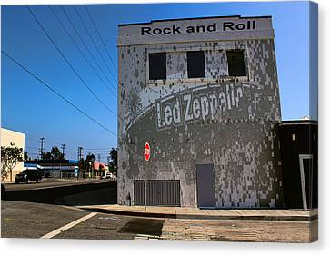 Led Zeppelin Artwork Canvas Print - Led Zeppelin I by RJ Aguilar