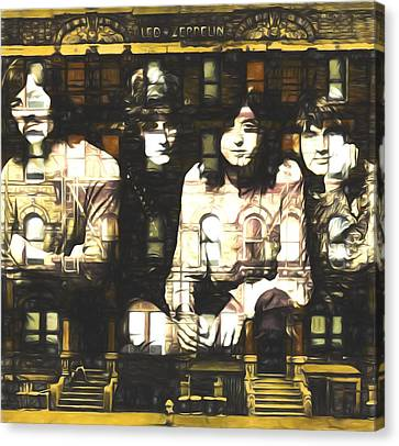 Physical Graffiti Canvas Print - Led Zeppelin Physical Graffiti by Dan Sproul
