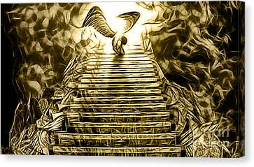 Led Zeppelin Stairway To Heaven Canvas Print by Marvin Blaine