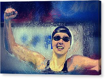 Ledecky Canvas Print by Semih Yurdabak