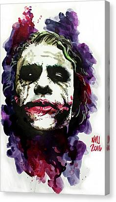 Ledgerjoker Canvas Print by Ken Meyer jr