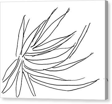 Lee Krasner Series 4 Canvas Print by Dick Sauer