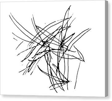 Lee Krasner Series 5 Canvas Print by Dick Sauer