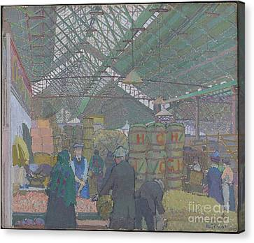 Leeds Market Canvas Print by Celestial Images