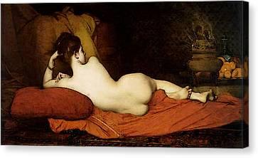 Lefebvre Jules Joseph Odalisque Canvas Print