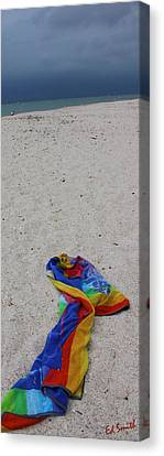 Left Behind Canvas Print by Ed Smith