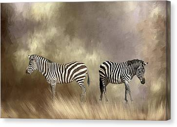 Canvas Print featuring the photograph Left Or Right by Donna Kennedy