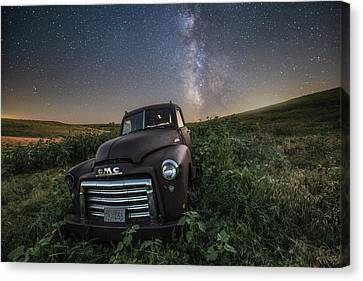Left To Rust Canvas Print by Aaron J Groen