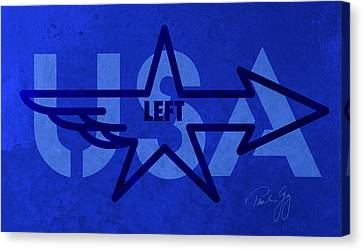 Left Wing Canvas Print