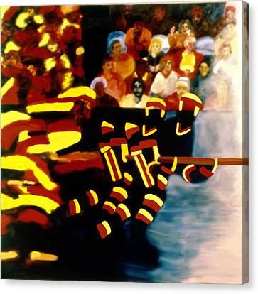 Left Wing Canvas Print by Ken Yackel