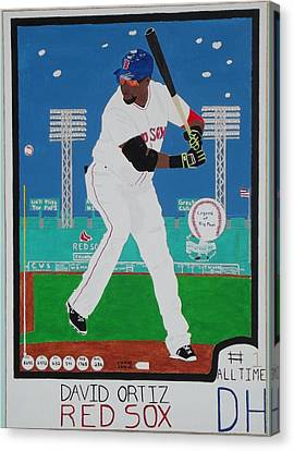 Legend Of Big Papi Canvas Print