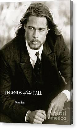 Legends Of The Fall, Brad Pitt Canvas Print