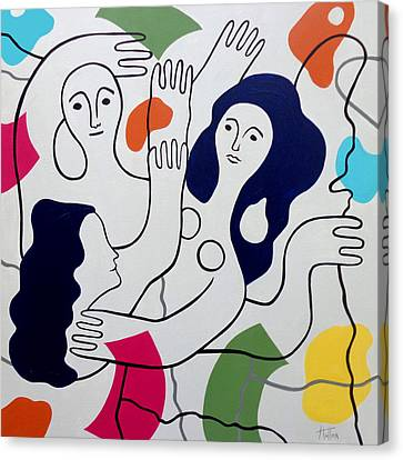 Leger Light And Loose Canvas Print