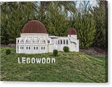 Legowood Canvas Print