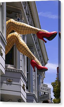 Legs Haight Ashbury Canvas Print by Garry Gay