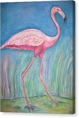 Legs Canvas Print by Marlene Robbins