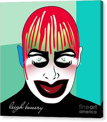 Leigh Bowery Canvas Print by Mark Ashkenazi