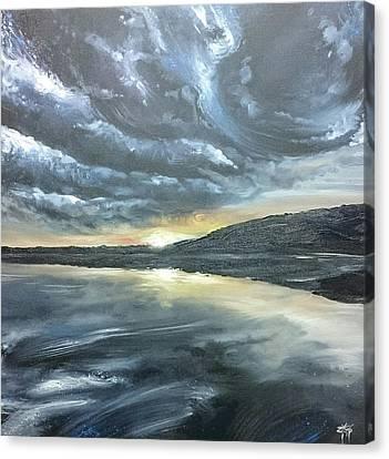 Canvas Print - Lelant Beach, Porth Kidney, Cornwall by Keran Sunaski Gilmore