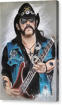 Lemmy Canvas Print by Melanie D