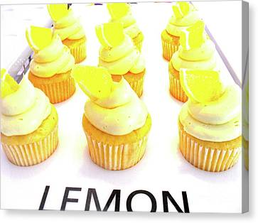 When Life Gives You Lemons Canvas Print by Beth Saffer