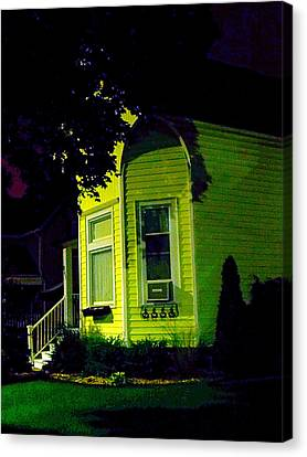 Canvas Print - Lemon-drop House by Guy Ricketts