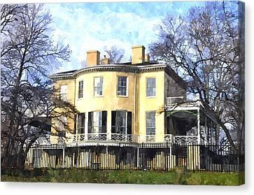 Lemon Hill Mansion Canvas Print